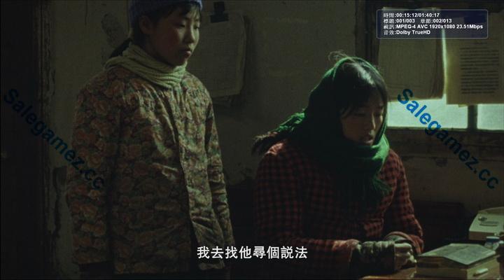 秋菊打官司 (story